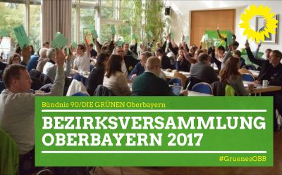 Grüne Bezirksversammlung Oberbbayern 2017 Feldafing