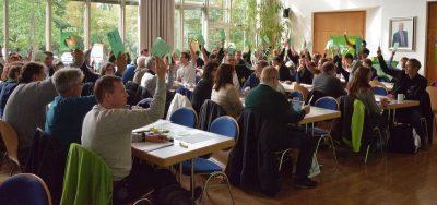 Bezirksversammlung Bündnis 90/DIE GRÜNEN Oberbayern 8.10.2016 Unterschleißheim